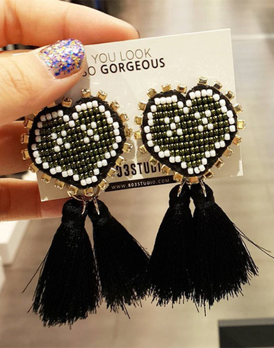 XOXO Heart earring_DG