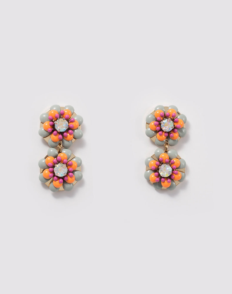 Flower Garden earring